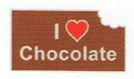 Chocolate Bar - Enamel Charm